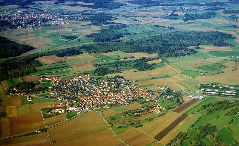 Luftbild Feldstetten