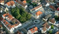 Luftbild Kreisverkehr