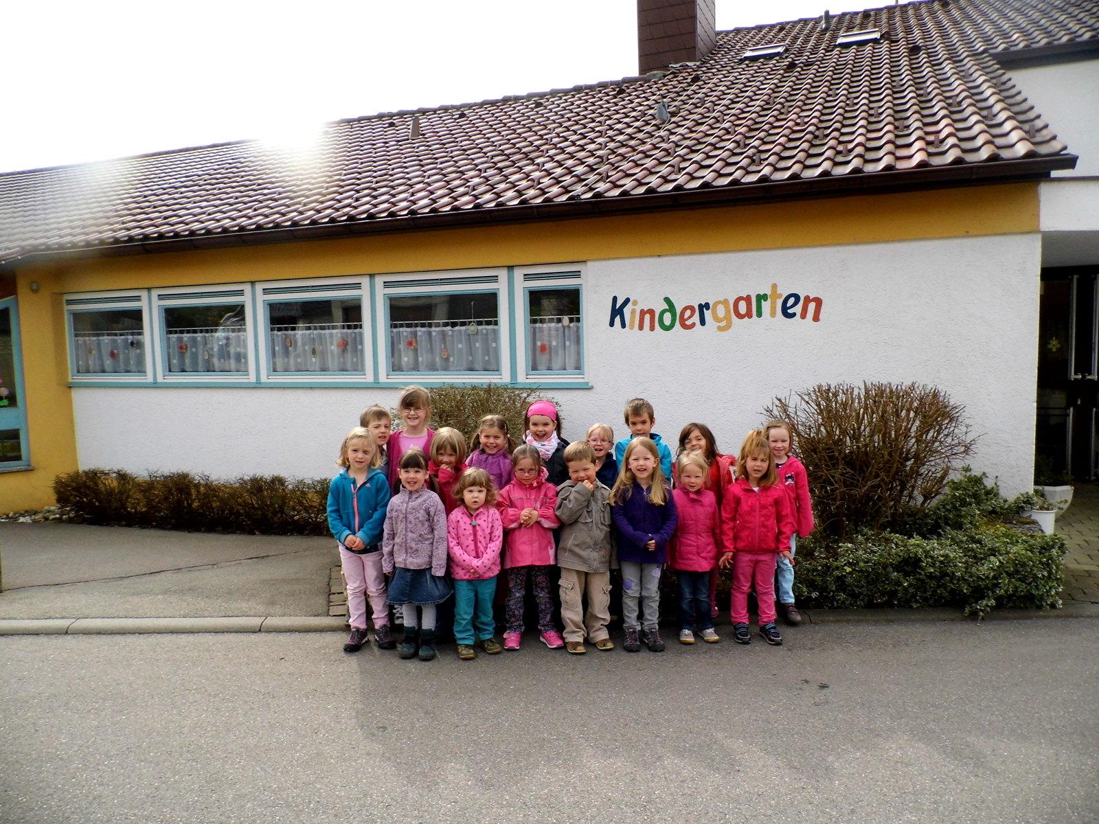 Gebäude mit Kinder