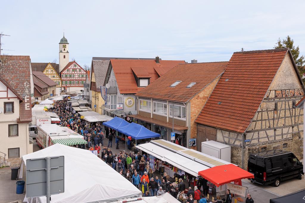 Markt in Laichingen