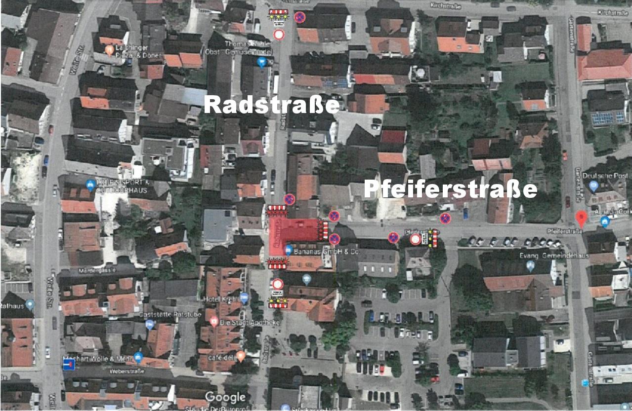 Pfeiferstraße / Radstraße