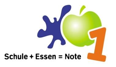 Logo Schule + Essen = Note 1 Zertifizierung