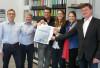 Präsentation der Laichinger Gugg durch die Wirtschaftsvereinigung und der Stadt Laichingen im Bürgerbüro