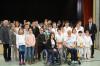 Gruppenbild der Geehrten mit Bürgermeister Klaus Kaufmann