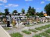 Gräberfeld auf dem Laichinger Friedhof