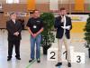 Bürgermeister Klaus Kaufmann eröffnet das ADAC Fahrradturnier in der Jahnsporthalle Laichingen