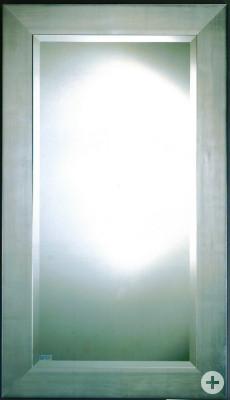Spiegel Art-Nr. 11055 silber 9 cm Rahmenbreite