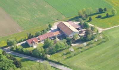 Luftbild Ferienhof Sautter