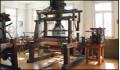 Jaquard Webstuhl aus Holz