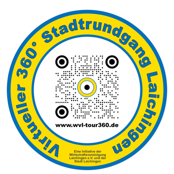 Logo 360 Grad virtueller Stadtrundgang Laichingen