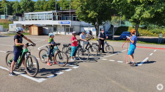 E-Bike Training Bild