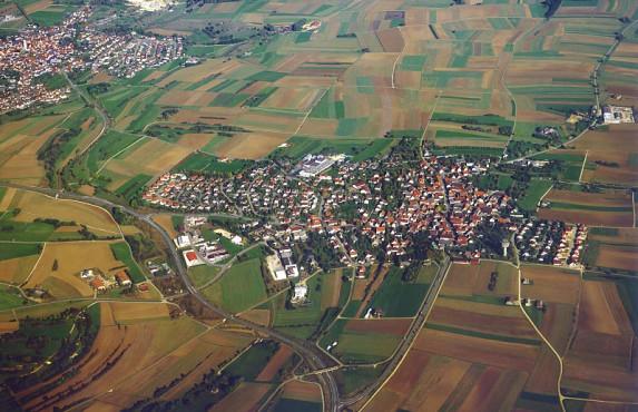 Luftbild Machtolsheim
