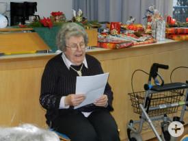 Ella Röcker erzählt eine lustige Weihnachtsgeschichte