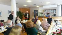 Fraktionsvorsitzende in der Seniorenwohnanlage
