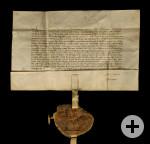 Laichinger Stadtbrief von 1364