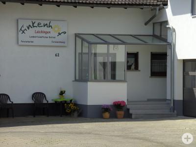 Eingang zur Ferienwohnung auf dem Finkenhof