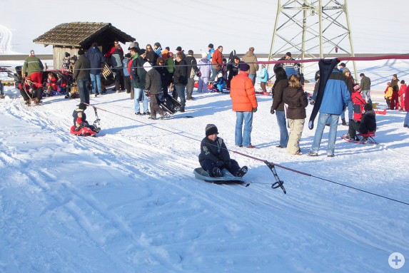 Schlittenlift des Skilift Laichingen