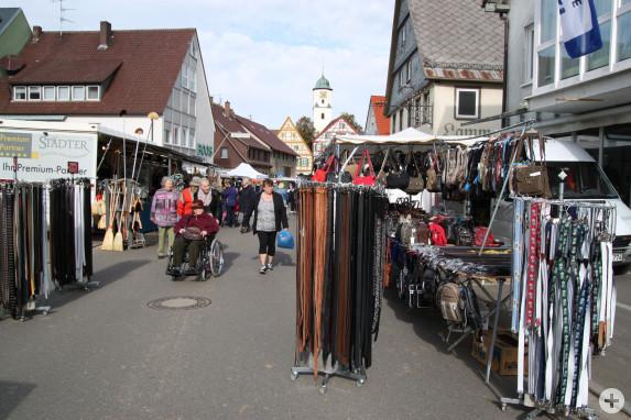 Kirchweihmarkt in Laichingen