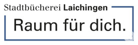 Logo Stadtbücherei Laichingen kompakt blau