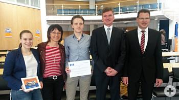 Mitmachen Ehrensache - Jugendbeirat mit Bürgermeister und Landrat
