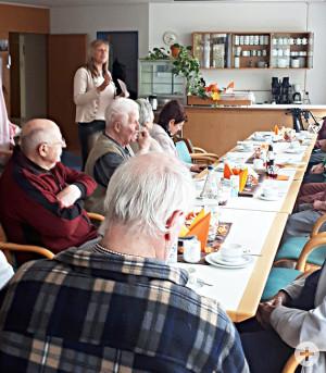 Vortrag in der Seniorenwohnanlage