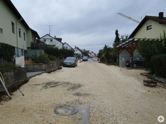 Foto Ausbau Helfensteiner Straße